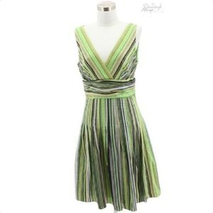 A29 KAY UNGER Designer Dress Size 8 Medium Green